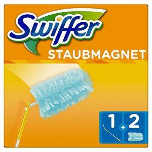 Swiffer Staubmagnet XXLSet (1Griff Plus 2Staubmagnet Tücher), 1 Stück