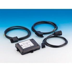 Power-Splitter Set – Anschluss von Kochfeld, Backofen oder Geschirrspüler inkl. 3 Kabel mit je 2 m Kabellänge / Powersplitter / Verteiler