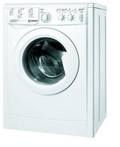 Indesit IWSC 51051 Ceco EU.M Waschmaschine FL / A+ / 166 kWh/Jahr / 1000 UpM / 5 kg / 7546 L/Jahr / 20-Min-Auffrischprogramm / ECO-Time Funktion bis 30% Zeitersparnis für kleine Mengen / weiß