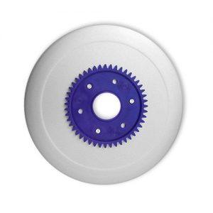 Schinkenmesser antihaft lila für RITTER Multischneider fortis 1, pino 2, E 16, E 18, E 21, E 118, AES / Allesschneider / Messer / Ersatzmesser / Aufschnittmesser