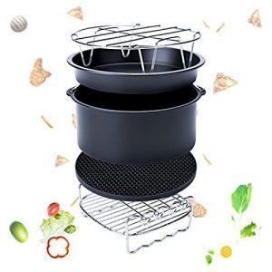 5 Pcs Heißluft Fritteuse Airfryer Zubehör für Gowise Philips und Cozyna für All Air fryer( 3.2QT Up)