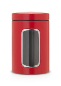 Fensterdose 1,4 L rund / Passion Red