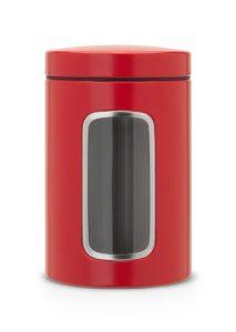 Fensterdose 1,4 L rund / Passion Red