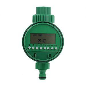 Kamtop Elektronische Wasser Timer Bewässerungsuhr Zeitmesser mit LCD Display Digital Bewässerung Controller Automatische Bewässerung für Garten Pflanze