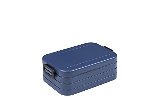 Rosti Mepal Lunchbox Take A Break Midi - Plastik, Nordic denim, 18.5 x 12 x 6.5 cm, 1 Einheiten