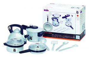 Theo Klein 9430 – WMF Topf-Set für die Kinderküche, Spielzeug