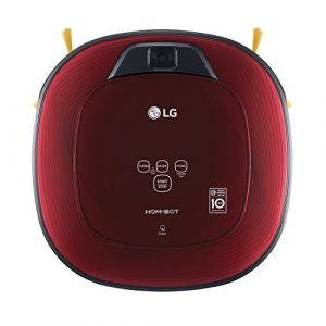 LG Electronics VRD 710 RRC Carpet Care Roboter-Staubsauger (Raumerkennung durch Dual-Kamera System, 4 Reinigungsmodi, inkl. Teppichbürste) ruby rot