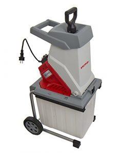 IKRA Elektro Gartenhäcksler Messerhäcksler IEG 2500 inkl. Fangbox 50 Liter, 2.500 Watt, langlebige Wendemesser