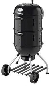 RÖSLE 25009 Watersmoker, Smoker No.1 F50-S, schwarz, 69 x 68 x 136 cm