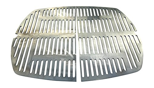Grillrost Edelstahl V2A Ersatzrost passt für Grills WEBER Q300 Q320 Q3000 Q3100 / Q 300 Q 320 Q 3000 Q 3100 Q 3200