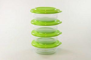 TUPPERWARE Tafelperle 275ml grün (4) Tafelfeine Schüssel Servieren Classic Royal