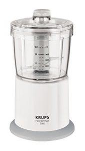 Krups GVA151 Zerkleinerer Speedy, 400 W, weiß / grau