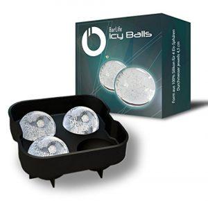 BarLife Icy Balls – Die trendige Eiswürfelform aus Silikon zum Erstellen von Eiskugeln