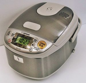 Microcomputer-Reiskocher NS-LLH05-XA [AC220-230V%¶ÝÏ% 50/60Hz gewidmet Zojirushi Ubersee 0.54L (3 go) kochen