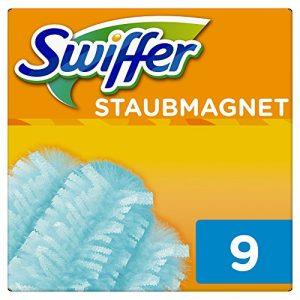 Swiffer Staubmagnet-Tücher, Nachfüllpack, 2er Pack (2 x 9 Stück)