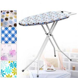 Yahee Bügelbrett Bügeltisch Bügel Tisch Brett mit Bügelablage ausklappbar 89 x 33 cm