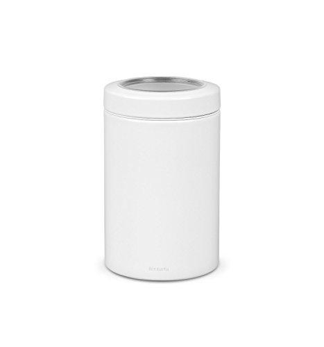 Dose mit Fensterdeckel 1,4 L / White