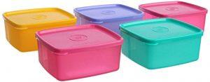TUPPERWARE Cool N Fresh Set, 5-teilig, Farbe kann variieren