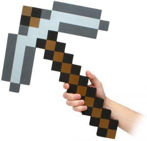 Minecraft Spitzhacke aus hartem Schaumstoff (Replika)