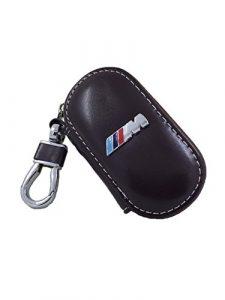 BMW Linien M Sport Leder Case/Cover Schlüsselanhänger Herd Blown