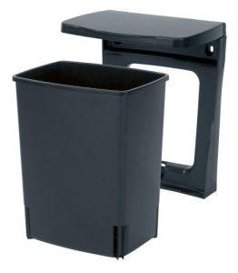 Brabantia Einbau Mülleimer, 10 Liter schwarz