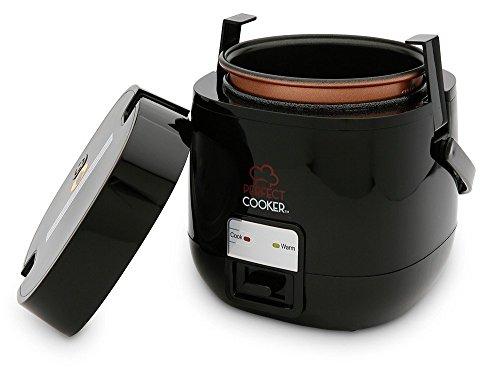 Der original PerfectCooker aus dem TV - Reiskocher & Dampfgarer - Alle Arten von Speisen auf Knopfdruck zubereiten lassen - 100% mobile Küche - Der Perfect Cooker spart Zeit & Geld- 0,7L