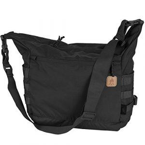 BUSHCRAFT SATCHEL Bag Tasche – Cordura® – Black Schwarz