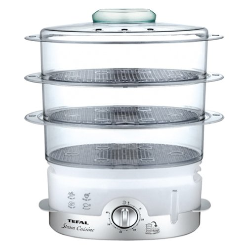 Tefal VC1006 Dampfgarer Ultra Compact, 900 W