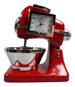 Küchenmaschine ca 8,5x6x4,5 cm – Vintage Uhr – Sammleruhr mit hochwertiger Geschenkbox
