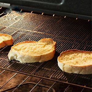 BeautyTop 1PC BBQ Grill Mat Mat Matte Nonstick Pad Fiberglas Grill Pad Grill Folie Werkzeug (36 x 42cm)
