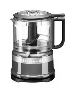 KitchenAid 5KFC3516, Mini-Food-Processor, Kontur-Silber