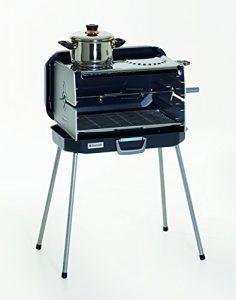 Dometic 9103300175 Classic 2 Koffergrill/Gasgrill mit 2 Kochplatten, 50 millibar