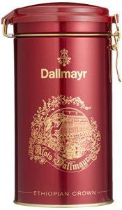 Dallmayr Kaffee Schmuckdose Ethiopian Crown 500g Filterkaffee, 1er Pack (1 x 0.5 kg)