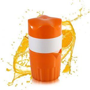 Trenta Küche Manuelle Saftpresse Fruit Lemon Lime Orange Squeezer–16,9oz/500ml Behälter–POUR Auslauf–Perfect Entsafter Tasse für Kinder