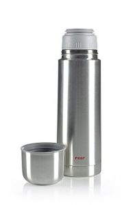 reer 90500.08 – Edelstahl Isolier-Flasche, 500ml