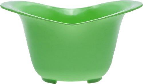 New Metro Design MixerMate - Grüne Rührschüssel mit Ausgüssen - ideal für Handrührer