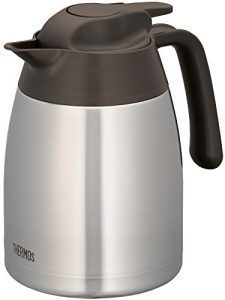 Thermos 4026.205.100 Isolierkanne THV, 1,0 L, edelstahl, 12,5 x 16,5 x 16,5 cm