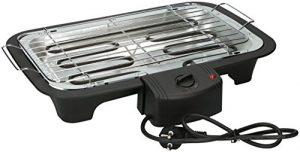 Eurosell 2000W Elektro Tischgrill Grillplatte Grill – auch für innen geeignet