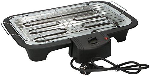 Eurosell 2000W Elektro Tischgrill Grillplatte Grill - auch für innen geeignet