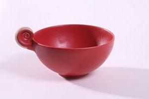 Milchkaffee-/Tee-Schale , Durchmesser ca. 13 cm H:6,5 cm Vol: 0,35 l , Steinzeug , Spülmaschinenfest,Mikrowellen-fest, Backofen-geeignet