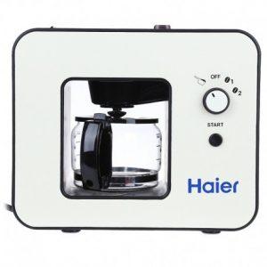Haier Kaffeemaschine Kaffeemühle sebastiania, 4Fassungsvermögen, Warmhaltefunktion, leicht zu reinigen, Design Reißverschlusszieher