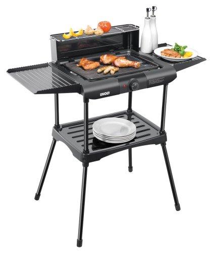 Unold Vario Barbecue-Grill / 1.600 W / Tisch- und Standgrill