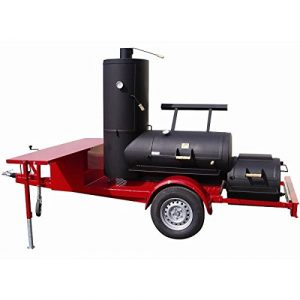 Joes Barbeque 24″ Chuckwagon Catering Smoker Trailer
