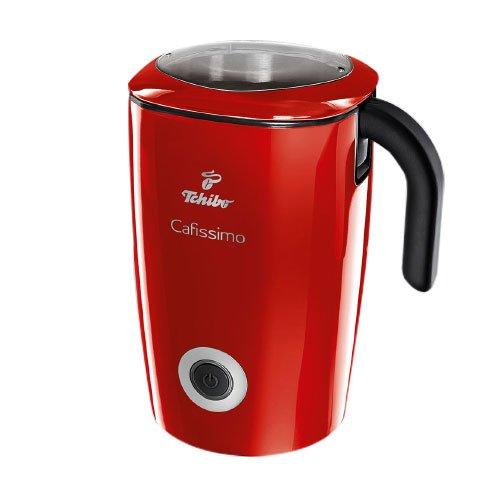 Tchibo Cafissimo Induktions-Milchaufschäumer (500 Watt, 500 ml, spülmaschinengeeignet) Rot