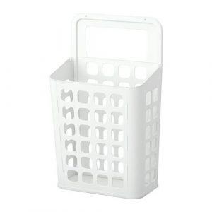 IKEA VARIERA Abfalleimer in weiß
