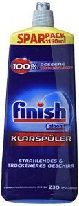Finish Klarspüler mit Glanz- und Glasschutz, XXL Pack (3 x 1150ml)