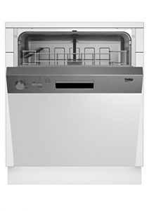 Beko DSN04211X Geschirrspüler/A+/290 L/Halbe Beladung Zusatzfunktion/Intensiv-Reinigungsmodus/Watersafe+/AquaFlex/Clean&Shine