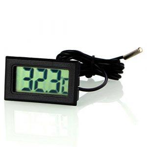 neuftech® LCD-Thermometer Kühlschrank Kühlschrank Digital + Sonde