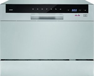 Bomann TSG 709 Tisch-Geschirrspüler, A+,6 MGD,174 kWh, Elektronische Programmsteuerung