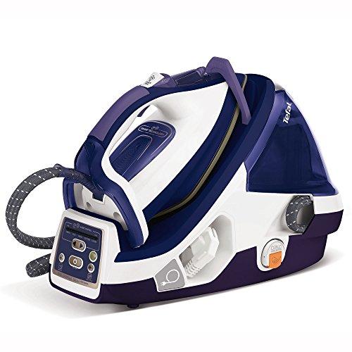 Tefal Pro X-Pert Plus GV8977 Dampfbügelstation (2.400 W, Variabler Dampf 0-120 g/min, Dampfstoß 450 g/min, Power-Zone: 360 g/min, automatische Abschaltung, 7,2 Bar) lila/weiß